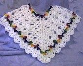 Amanda Lynn Girls and Toddlers Poncho CROCHET PATTERN - INSTANT Download