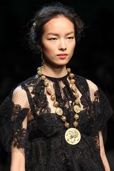 Dolce & Gabbana Spring 2014 Ready-to-Wear Fashion Show Details