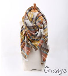 Comfy Cozy Blanket Scarves | 23 Colors | Jane