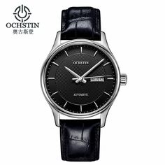 88.99$  Watch now - http://ali6wl.worldwells.pw/go.php?t=32775490357 - Ochstin Time-limited 2016 Men Mechanical Watch Montre Homme Mens Watches Top Brand Luxury Leather Automatic Women Clock Hour 88.99$