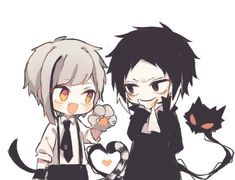 Tweet phương tiện bởi レイニー💜💛☔ (@AkatYuz) | Twitter Dazai Bungou Stray Dogs, Stray Dogs Anime, Nezumi No 6, Yukine Noragami, Cute Couple Comics, Otaku, Beautiful Dark Art, Chibi Characters, Fanart