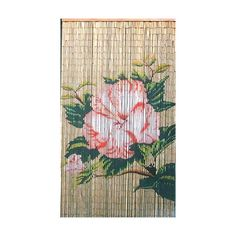 I pinned this Bamboo Flower Curtain from the Enchanting Tiki Bar event at Joss and Main!