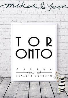Toronto prints City coordinates Toronto coordinates City Toronto, Projects To Try, Cinema, City, Prints, Movies, Cities, Movie Theater