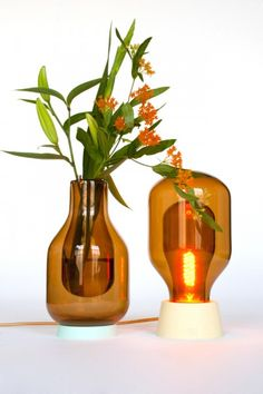 Dewar Light and Vase by David Derksen Design