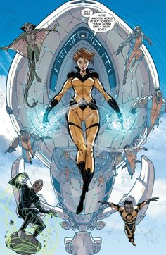 Crystal - All-New Inhumans #11
