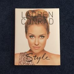 Style by Lauren Conrad this book is a great style guide. hard cover. 222 pages altogether. good condition, minor scratch on front, not really noticeable. the last picture shows it and also the last pages have to dots. they were there when I got the book. Accessories