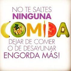 Comer bien primero #salud #dieta #adelgazar