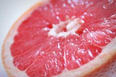 Grapefruit photography 5x7 fine art print food photography kitchen decor juicy fruit core skin sweet