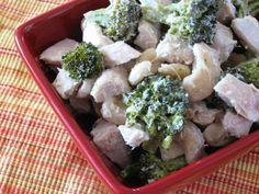 Crunchy Chicken Salad with Broccoli
