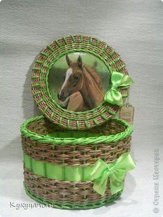 шкатулка плетеная из бумажной лозы. Заказы принимаются здесь http://www.livemaster.ru/myshop/irinkamaster