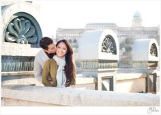 Budapest, Engagement, Buda Castle, Chain Bridge