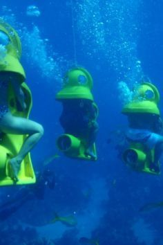 Go to the Bahamas and ride a SUB (Scenic Underwater Bubbles)