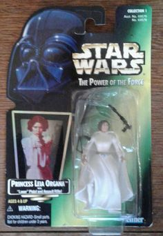 STAR WARS Power of the Force Princess LEIA Organa Laser Pistol ACTION FIGURES | Toys & Hobbies, Action Figures, TV, Movie & Video Games | eBay!