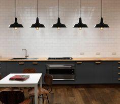 Vintage Industrial Pendant Light Dining Kitchen Ceiling Edison Light Black Retro | eBay