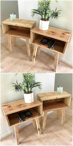 Most Creative Simple DIY Wooden Pallet Furniture Project Ideas wooden pallet end tables The post Most Creative Simple DIY Wooden Pallet Furniture Project Ideas appeared first on Pallet Ideas. Decor, Diy Wood Projects, Pallet End Tables, Wood Pallets, Home Decor, Diy Pallet Furniture, Furniture Projects, Modern Furniture Living Room, Wooden Diy