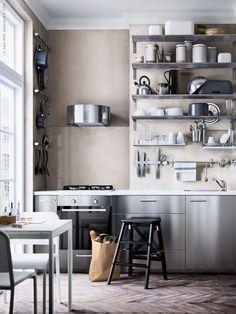 Rustikt med rostfritt (IKEA Sverige - Livet Hemma)