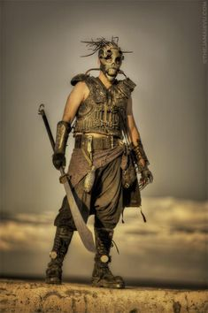 Inspiration for post apoc costumes (Page - Costumes - Wasteland Weekend Forums - Online Post-apocalyptic Community Post Apocalyptic Clothing, Post Apocalyptic Costume, Post Apocalyptic Art, Post Apocalyptic Fashion, Apocalypse Fashion, Apocalypse World, Zombie Apocalypse, Apocalypse Costume, Mad Max