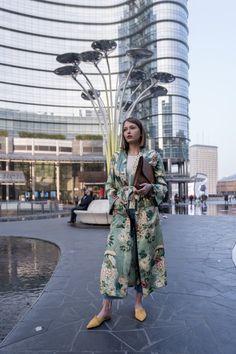 #kimono #vest #floral #flower #zara #mules