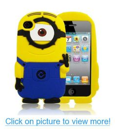 Despicable Me 2 Minions Soft Silicone Case Defender Cover for Apple Iphone 4 4g 4s 5 5s 5c (One Eye For iphone 4 4S) #Despicable #Minions #Soft #Silicone #Case #Defender #Cover #Apple #Iphone #4g #4s #5s #5c #One #Eye #iphone #4S