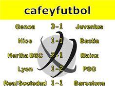 Café y Fútbol: Results November 27th
