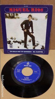 MIGUEL RIOS. YO SOLO SOY UN HOMBRE. SINGLE / HISPAVOX - 1969 / MBC. ***/*** LEVES MARCAS