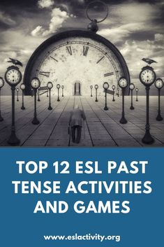Top 12 ESL past tense games and activities. Try these activities to practice the simple past with your students today. Irregular Past Tense Verbs, Efl Teaching, Teaching English Grammar, Esl Lesson Plans, Esl Lessons, Reading Intervention, Reading Passages, Study Skills, English Study