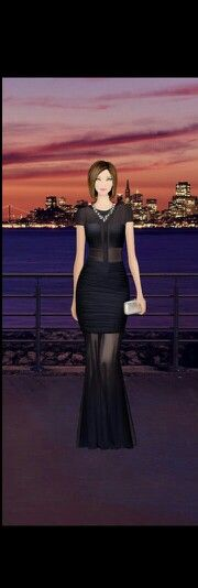 Sunset soiree in Sausalito ~ Shoes - Rebecca Minkoff Brie Stud, Dress - Terani Couture Stretch Mesh Prom, Bag - Rebecca Minkoff Vincent Minaudiere, Necklace - BCBGMAXAZRIA Stone Necklace, Earrings - Ashley Pittman Konga Earrings