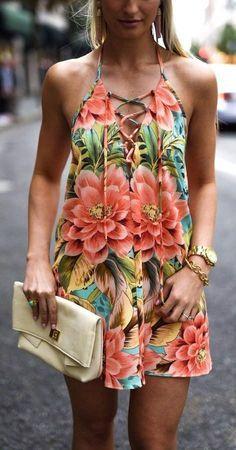 7f56d1f84ca Modelos de vestidos de verão. Vestido ChiqueRoupas ChiqueModa ...