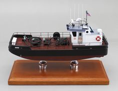 """A recently completed 22"""" scale model of a Tug Boat. Built for an East Coast bunkering company."""
