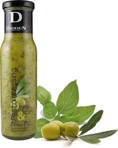 Pesto Dressing... Surprising & Fresh