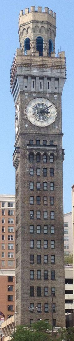 Bromo Seltzer clock tower, Baltimore, Maryland