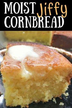 Jiffy Recipes, Jiffy Cornbread Recipes, Vegan Cornbread, Buttermilk Cornbread, Homemade Cornbread, Buttermilk Recipes, Keto Recipes, Yummy Recipes, Baking Recipes