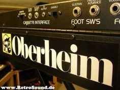 Oberheim OB-X - One of my absolute favorite sounding analog synths of all time.