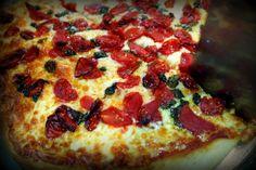 Pizza dos gêmeos Rodrigo e Henrique