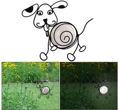 Add a loving glow to your yard or garden with the simple addition of charming canine solar light. Powered by a single-cell solar panel within an acrylic globe, it provides up to eight hours of gentle light without the hassle of wires. Belly Full of Love Solar Light @ The Animal Rescue Site