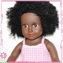 """Fannie-18"""" Farvision Girl, Fannie-18"""" Farvision Girl direct from Dongguan Farvision Crafts Co., Ltd. in China (Mainland)  The short curly afro hair is African style, just love it ! More information, contact with me: sophiacheng@gdfarvision.com.cn"""
