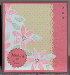 LSC212 Spring Petals by Cathy'sFancy - Cards and Paper Crafts at Splitcoaststampers