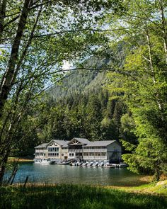 Lose yourself in ancient wilderness in one of BC's eco-lodges that are fully committed to conserving energy, the environment, and the cultural Lodges, British Columbia, Conservation, Wilderness, Environment, Culture, House Styles, Travel, Cabins