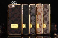 iphone7 PLUS ケース ブランドコーチ メッキ加工6s/5SEケースGalaxy S7 Edge/s6 edge plus/s6/5薄いギャラクシーNote7/5/4携帯カバービジネス風Coach