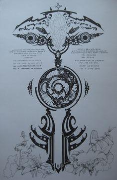 Final Wars Tattoo 1 by MrWhiteEyebrow on DeviantArt War Tattoo, Norse Tattoo, Viking Tattoos, Tattoo Drawings, Body Art Tattoos, Sleeve Tattoos, Cool Tattoos, Final Fantasy Tattoo, Fantasy Tattoos