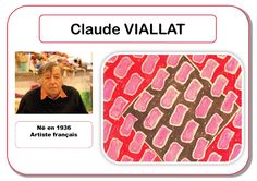 Claude Viallat - Portrait d'artiste Plus Art Montessori, Art For Kids, Crafts For Kids, Art Worksheets, Ecole Art, Teaching Art, Art Therapy, In Kindergarten, Art School