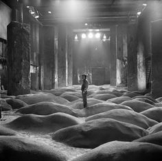 Russian director Andrei Tarkovsky on the set of his 1979 film, Stalker. © Gueorgui Pinkhassov / Magnum Photos