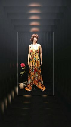 A personal favorite from my Etsy shop https://www.etsy.com/listing/547339921/scarf-dress-golden-yellow-floral-animal