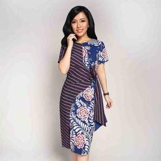 Home - Batik Kultur Elegant Dresses For Women, Simple Dresses, Short Dresses, Model Dress Batik, Batik Dress, Blouse Batik Modern, Batik Muslim, Dress Batik Kombinasi, Batik Kebaya