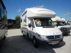"This used 2006 Sprinter RV, a Winnebago View, is a great example of how buying a used Sprinter motorhome can save you a lot of money. In my Sprinter RV blog post ""How to Buy a Used Sprinter RV"" (linked from the picture), I give examples of some Sprinter-specific things to look out for when evaluating a used Sprinter RV conversion."