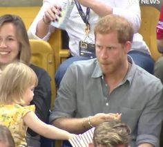 This Little Girl Stole Prince Harry's Popcorn And His Reaction Was Almost Too Adorable