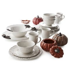 JCPenney Home™ Amberly Dinnerware Collection found at @JCPenney 16 pc $59.99 (sale)  sc 1 st  Pinterest & Adeline Dinnerware Collection - jcpenney | Dinnerware | Pinterest ...