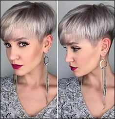 100 Mind-Blowing Short Hairstyles for Fine Hair | Kurze haare ... | Einfache Frisuren