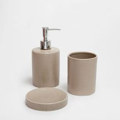 Image of the product MINI CHECKED CERAMIC BATHROOM SET