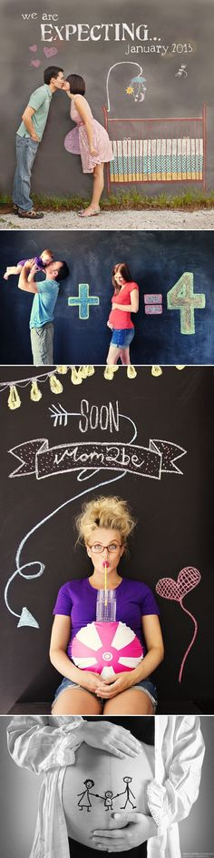 The Ultimate Modern Maternity Photo Guide – 55 Seriously Adorable Modern Maternity Photo Ideas - Doodle! #pregnancyannouncementtofamily,